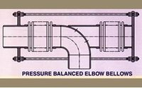 Pressure Balanced Elbow Bellows