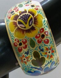 Enamel Alloy Bangle