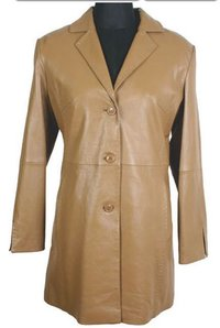 Ladies Long Leather Jackets