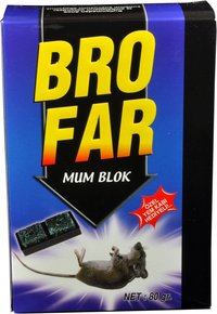 Brofar Wax Block Rat Poison