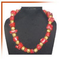 Gold Beaded Necklaces
