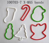 Chrismas Fun Shaped Silly Bandz