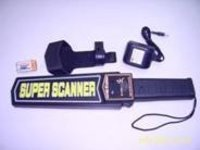 Portable Hand-Held Metal Detector