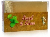 Basil And Khus Bathing Bar (Skin Care)