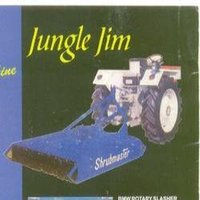 Jungle Jim/Rotary Slasher (Grass Cutting Machine)