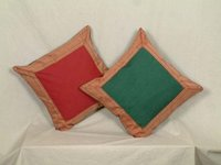 Woven Border Cushion Covers
