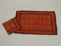 Handblock Printed Table Mats And Napkins