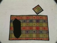 Jamevaram Table Mats And Napkins