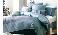 Blue Ornament Bed Linen