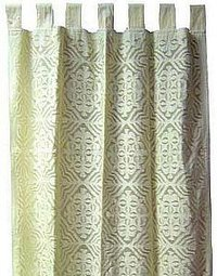 Applique Work Curtain