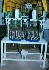 16 Spindle Double Head Braiding Machine
