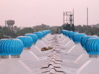 Powder Coated Roof Top Air Ventilators