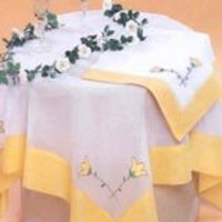 Embroidered Table And Kitchen Linen