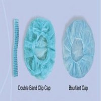 Double Band Clip Cap/Bouffant Cap