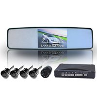 Car Rearview Camera System With 3.5-Inch Rear Mirror Tft Monitor