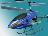 Plastic RC Helicopter