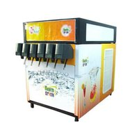 Post Mixed Type Soft Drink Vending Machine