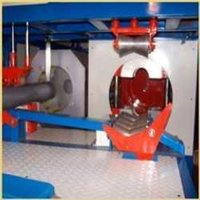 In-Line Socketing Machine For PVC Pipes