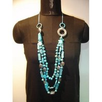 Chain Beaded Necklaces (Aew-12)