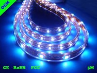 SMD3528 Waterproof Blue Flexible LED Strip