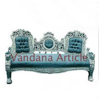 Handcrafted Silver Sofa