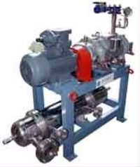 Dry Screw High Vacuum Pumping Systems