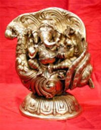 Ganesh Ji Brass Sculpture