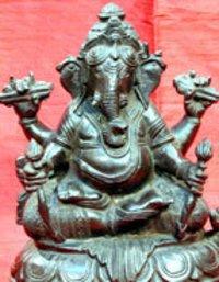 Elegant Ganesha Sculpture