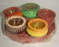 Diya Shape Candles