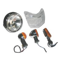 Blinkers/Indicators And Head Light Assemblies For Two Wheelers
