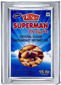 Kng Superman Delight Groundnut Refined Oil