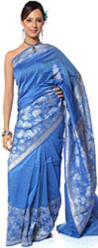 Royal Blue Sarees