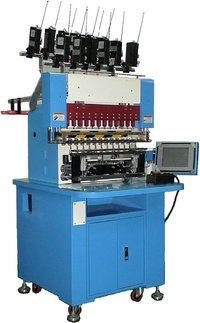 CNC Fully-Automated 8-Spindle Winding Machine