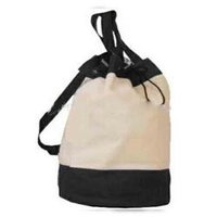 Organic Canvas Backpack Duffle Bag