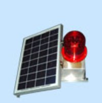 LED Solar Powered Medium Intensity Type B Aviation Obstacle Light