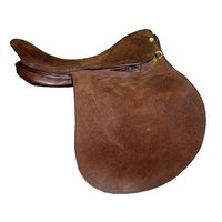 Dark Brown English Saddles