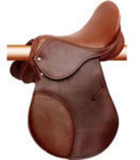 Brown Color English Saddles