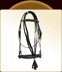 Black English Bridle