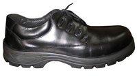 Mens Black Color Safety Shoes