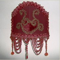 Embroidered Lamp Shades
