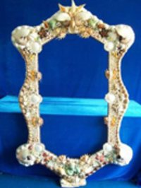 Seashell Designed Photo Frames