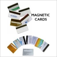Magnetic And Barcoded Cards