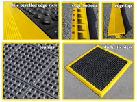 Combi Rubber Interlock Matting