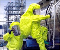 Gas-Tight Chemical Protective Suit