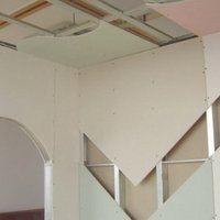 Gypboard Hollow Partition