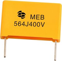 MEB Metallized Polyester Film Capacitor