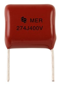 Metallized Polyester Film Capacitor Mer