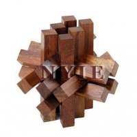 15 Part Bricks 3d Puzzles
