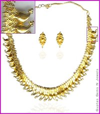 Designer Gold Necklaces