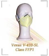 Fold Flat Type Respirator With Adjustable Elastic Bands